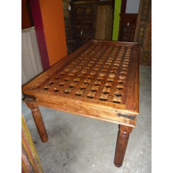 Grande table moucharabieh 210x100x76 cm