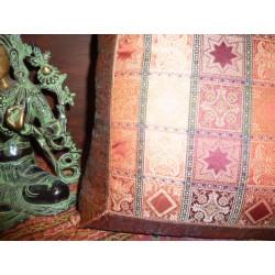 Nappes taffetas brocard 150x150 cm vert
