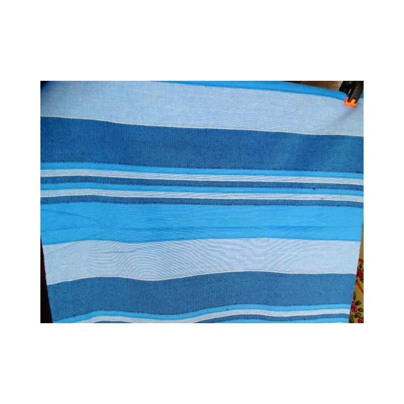 Paravent peint en relief (orange - fleur)