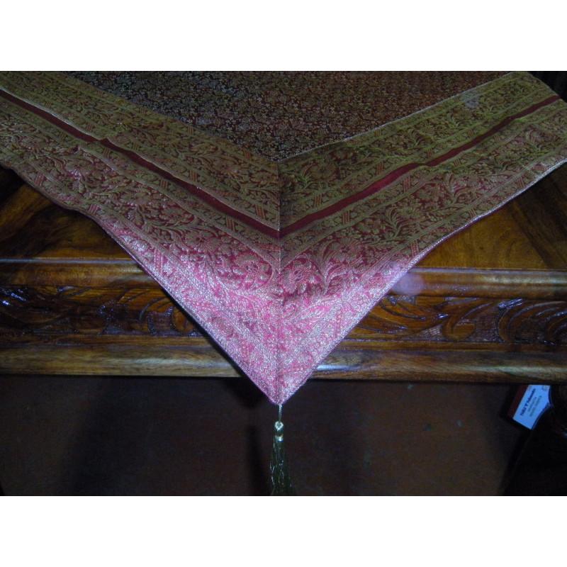 Paravent/tête de lit (relief, fleur, noir)