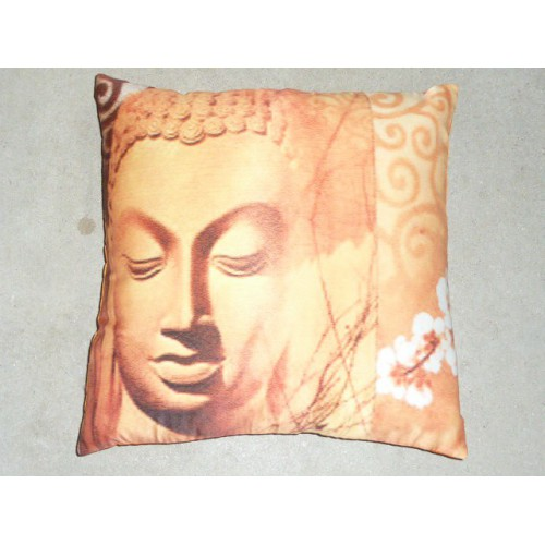 Housse 40X40 Buddha orange