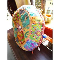 poignée en bronze ange indien