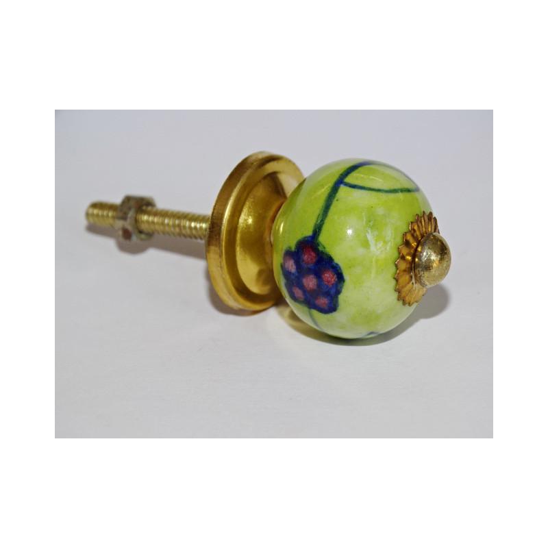Heurtoir en bronze écureuil en bronze