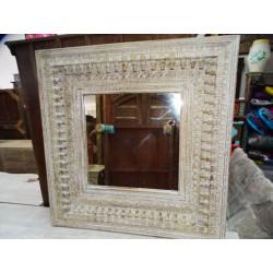 Jarre à eau peinte main turquoise (GM)