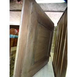 Jarre à eau peinte main turquoise (MM)