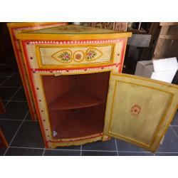 Parure de lit brocard gris bord saree