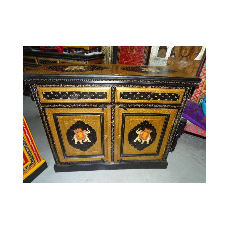 Boutons en porcelaine poix rose