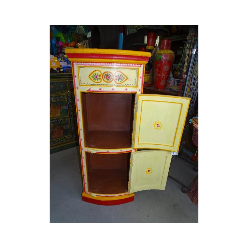 Boutons en porcelaine strillés bleu chinois