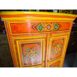 Boutons en porcelaine bleu clair/outremer