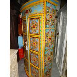 Poignée en bronze main doré