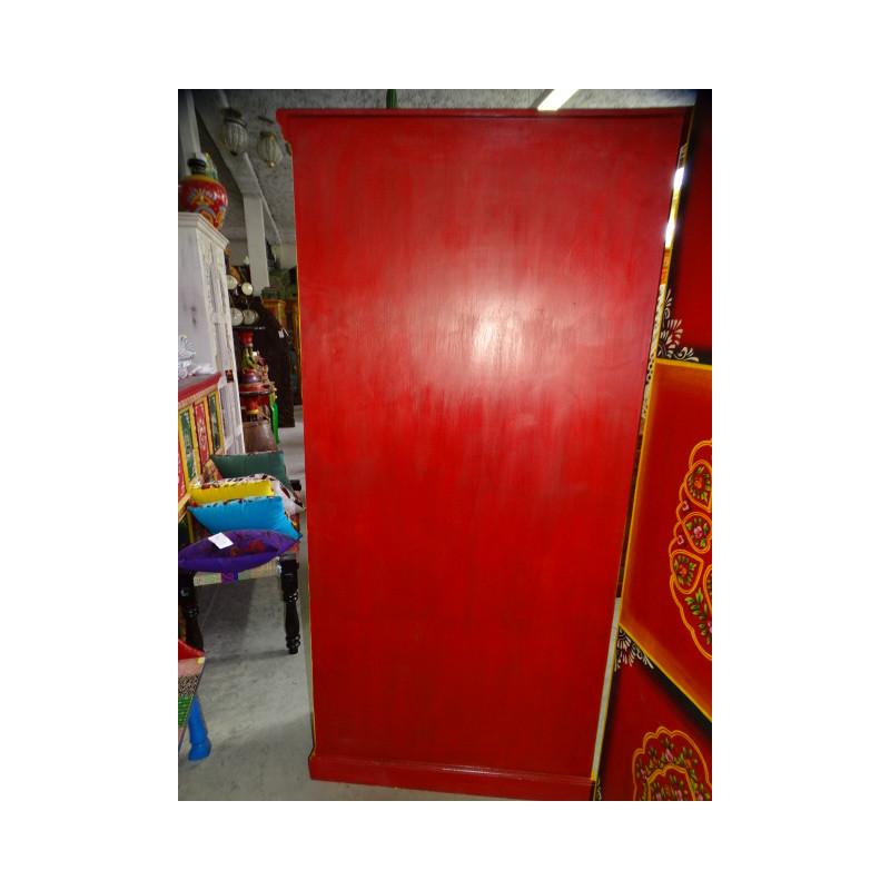 poignée en bronze danseuse verte gauche