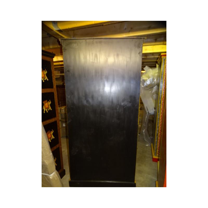 poignée en bronze animal musicien tambour vert