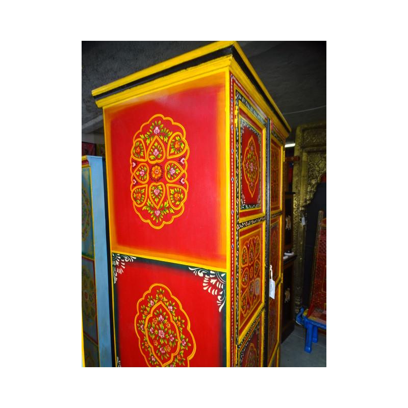 poignée en bronze animal musicien trompette vert