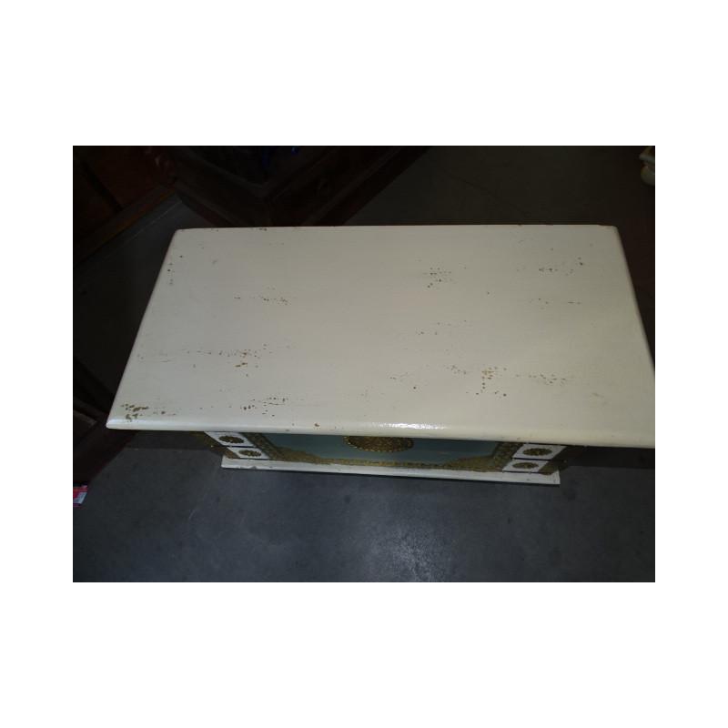 Heurtoir crocodile vert