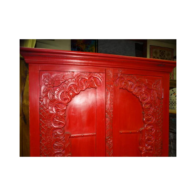 poignée en bronze grenouille vert