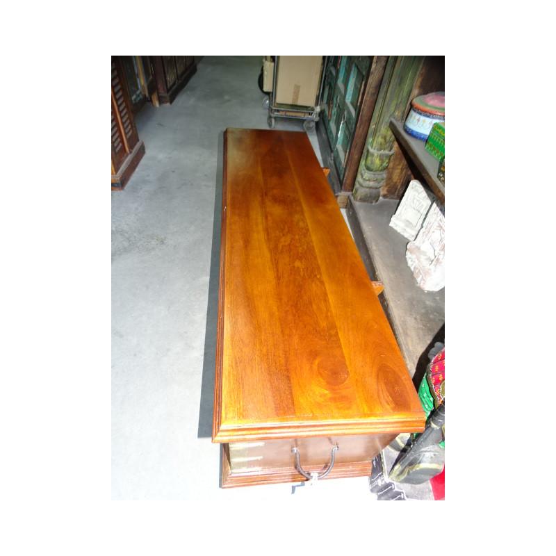poignée en bronze zebu doré