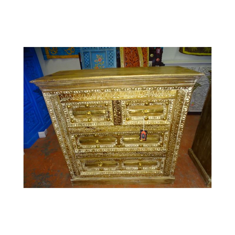 passage de porte palissandre sculpt meuble indien et. Black Bedroom Furniture Sets. Home Design Ideas
