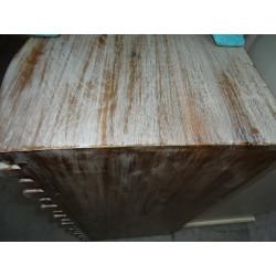 Nappes taffetas brocart 110x110 cm grise