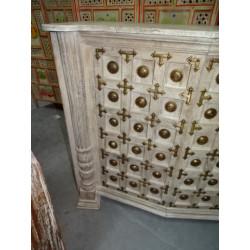statue de Devdasi en pierre (PM)