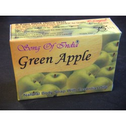 Savons indiens Green Apple (100 Grs)