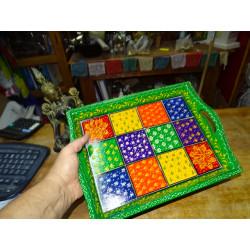 Porte encens famille de 4 éléphants