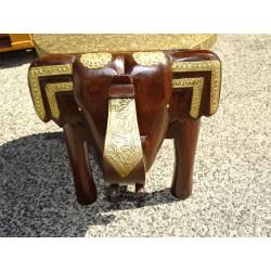 Petit moulin à prière cuivre & perles buddha