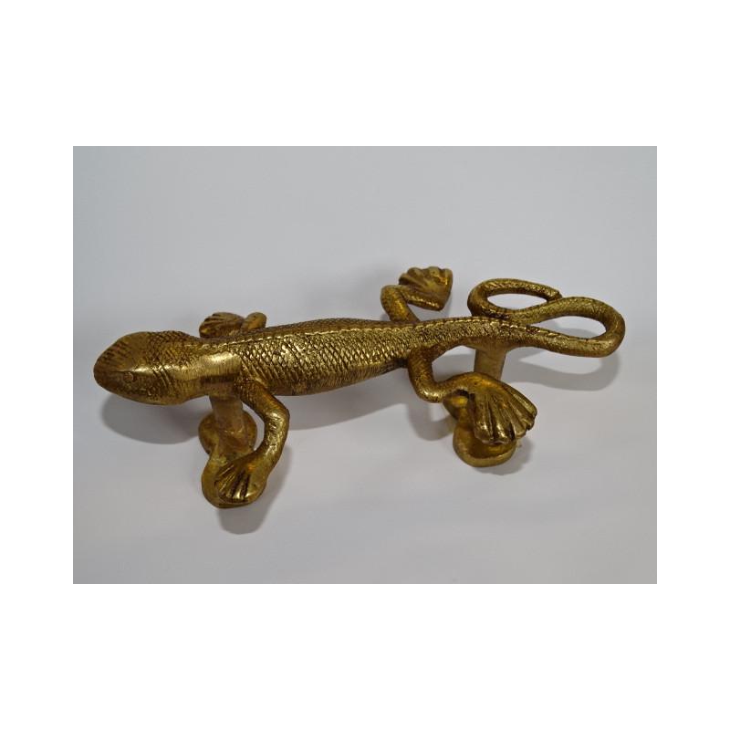 Boutons en porcelaine verte et jaune