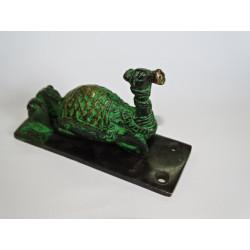 Cadenas en bronze Ganesh vert