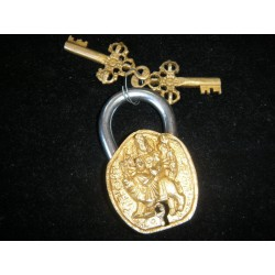 Cadenas en bronze shiva or