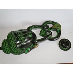 Cadenas en bronze Devdasi or