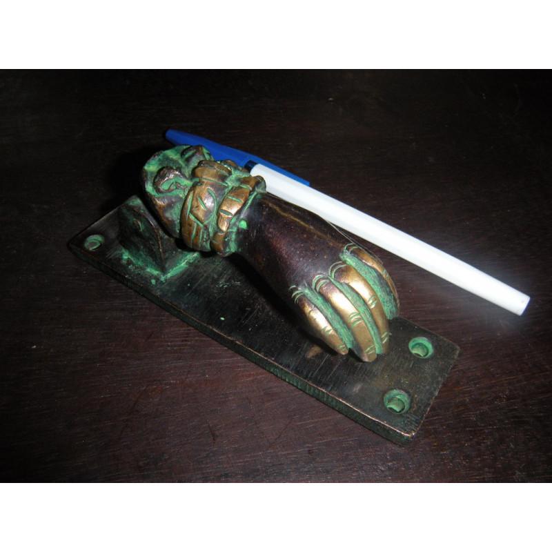 Cadenas en bronze 'Tortue or'