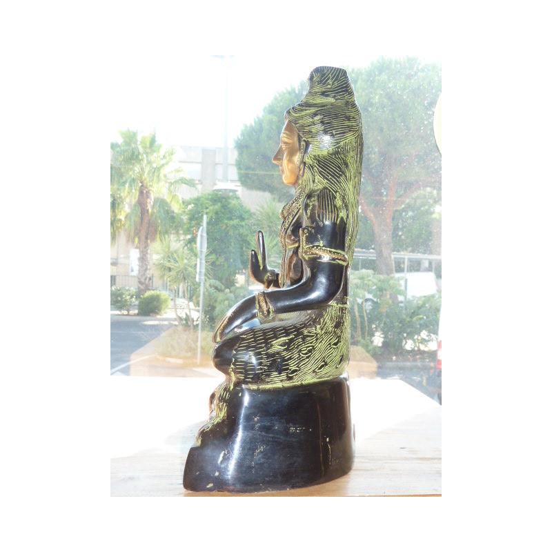 8x8 cm Fleurs turquoises