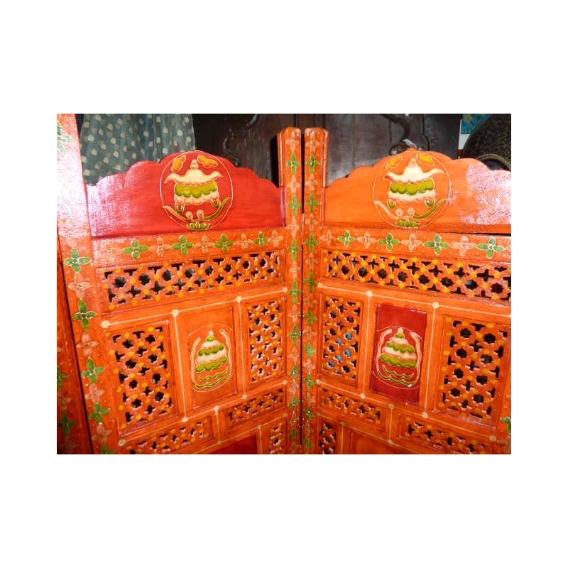 arabesques brod es et miroirs marron glac. Black Bedroom Furniture Sets. Home Design Ideas