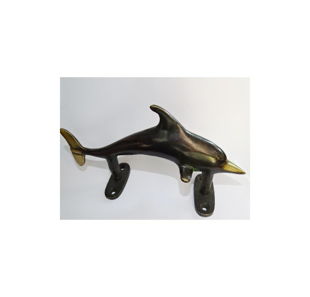 Vieux meuble TV en teck massif