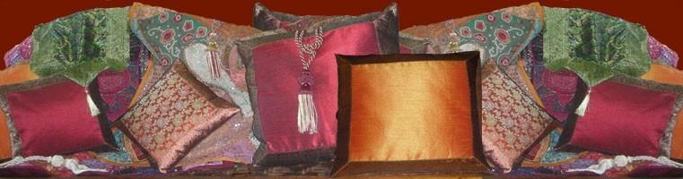 Housses coussins et oreillers