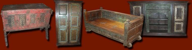 meubles indiens antiques meuble indien ancien de l 39 inde du nord les int rieurs d 39 ailleurs. Black Bedroom Furniture Sets. Home Design Ideas