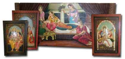 Peintures indiennes