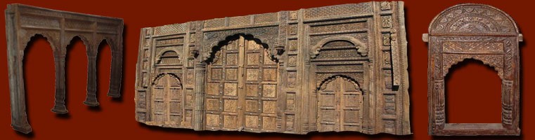 portes arches indiennes porte et arche palissandre inde les int rieurs d 39 ailleurs les. Black Bedroom Furniture Sets. Home Design Ideas