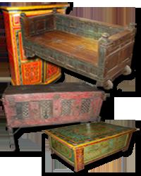 Meubles Indiens Anciens Et Récents Décoration Dintérieur Indienne