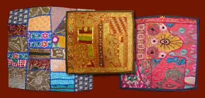Housse vieux tissus Gujarat